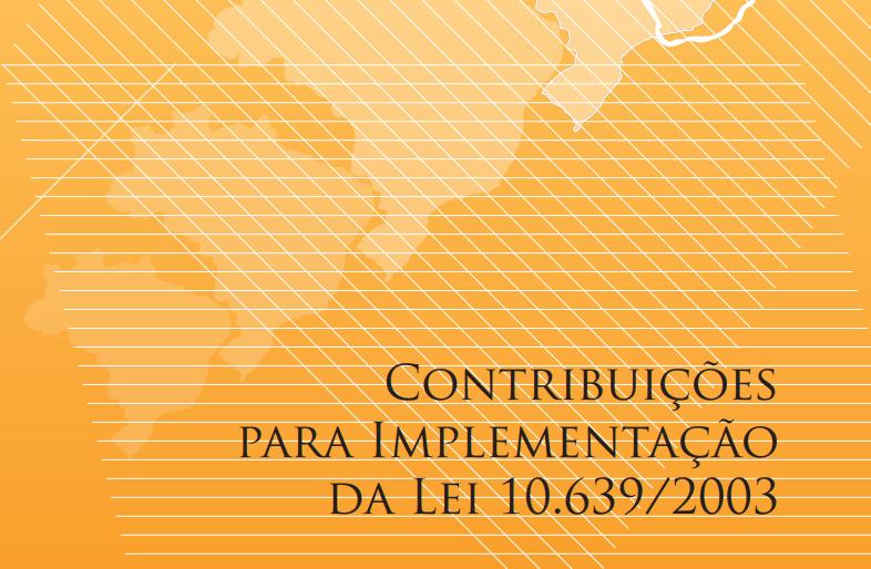 Contribuição para a implementação da Lei 10639/2003